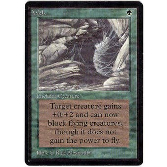 Magic the Gathering Beta Single Web - NEAR MINT (NM)