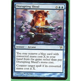 Magic the Gathering Betrayers of Kami Single Disrupting Shoal Foil