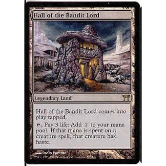 Magic the Gathering Champs of Kamigawa Single Hall of the Bandit Lord FOIL SLIGHT PLAY