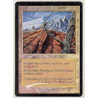 Magic the Gathering Promo Single Wasteland PLAYER REWARDS MPR FOIL - NEAR MINT (NM)