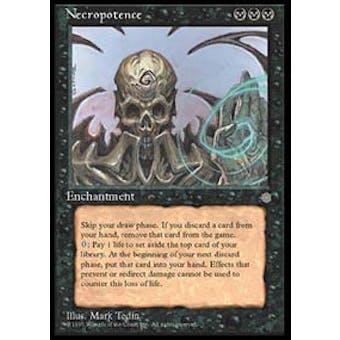 Magic the Gathering Ice Age Single Necropotence - NEAR MINT (NM)