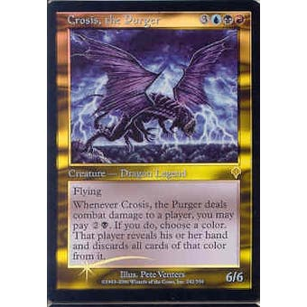 Magic the Gathering Invasion Single Crosis, the Purger Foil