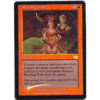 Magic the Gathering Judgment Single Burning Wish Foil - SLIGHT PLAY (SP)