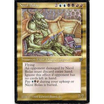 Magic the Gathering Legends Single Nicol Bolas - NEAR MINT minus (NM-) Sick Deal Pricing