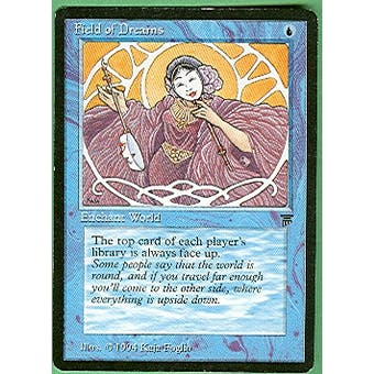 Magic the Gathering Legends Single Field of Dreams - MODERATE PLAY (MP)