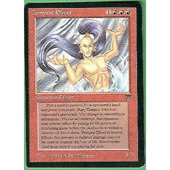 Magic the Gathering Legends Single Tempest Efreet - SLIGHT PLAY (SP)