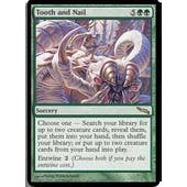 Magic the Gathering Mirrodin Single Tooth and Nail FOIL- SLIGHT PLAY (SP)