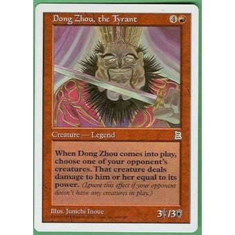 Magic the Gathering Portal 3: 3 Kingdoms Single Dong Zhou, the Tyrant - NEAR MINT (NM)