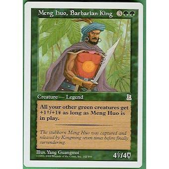 Magic the Gathering Portal 3: 3 Kingdoms Single Meng Huo, Barbarian King - NEAR MINT (NM)