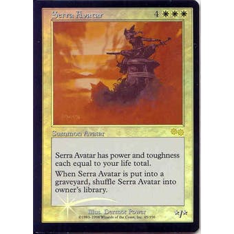 Magic the Gathering Urza's Saga Single Serra Avatar Foil (JSS Promo)