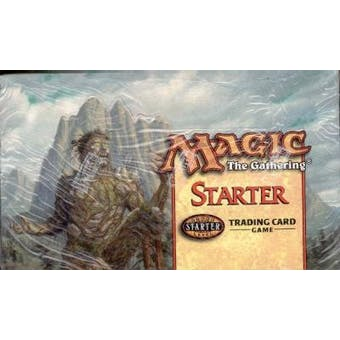 Magic the Gathering Starter Series (1999) Booster Box