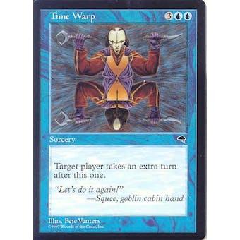 Magic the Gathering Tempest Single Time Warp - NEAR MINT (NM)