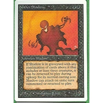 Magic the Gathering Unlimited Single Nether Shadow - NEAR MINT (NM)