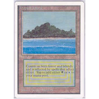 Magic the Gathering Unlimited Single Tropical Island - NEAR MINT (NM)