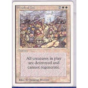 Magic the Gathering Unlimited Single Wrath of God - SLIGHT PLAY (SP)