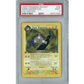 Pokemon Team Rocket 1st Edition Single Dark Magneton 28/82 - PSA 9