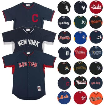 Majestic BP Cool Base Performance Authentic MLB Jersey