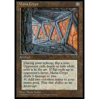 Magic the Gathering Book Promo Single Mana Crypt - NEAR MINT (NM)