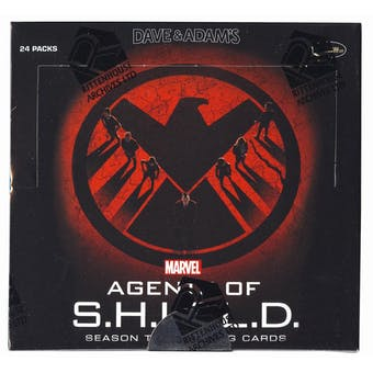 Marvel Agents of S.H.I.E.L.D. Season Two Trading Cards Box (Rittenhouse 2015)