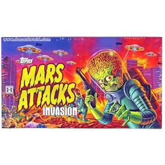 Mars Attacks Invasion Trading Cards Box (Topps 2013)