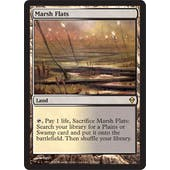Magic the Gathering Zendikar Single Marsh Flats - NEAR MINT (NM)