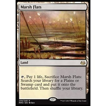 Magic the Gathering Modern Masters 2017 Single Marsh Flats - NEAR MINT (NM)