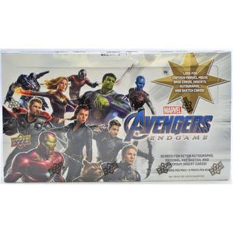 Marvel Avengers Endgame Captain Marvel Hobby Box (Upper Deck 2020)