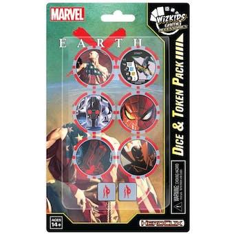 WizKids HeroClix Marvel Earth X Dice & Token