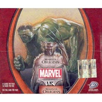 Vs System Marvel Origins 1st Edition Booster Box