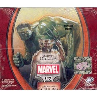 Vs System Marvel Origins Booster Box