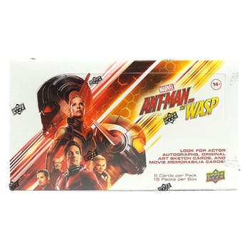 Marvel Ant-Man & The Wasp Hobby Box (Upper Deck 2018) (Lot of 3)
