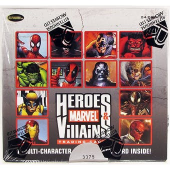 Marvel Comics Heroes & Villains Trading Cards Box (Rittenhouse 2010)