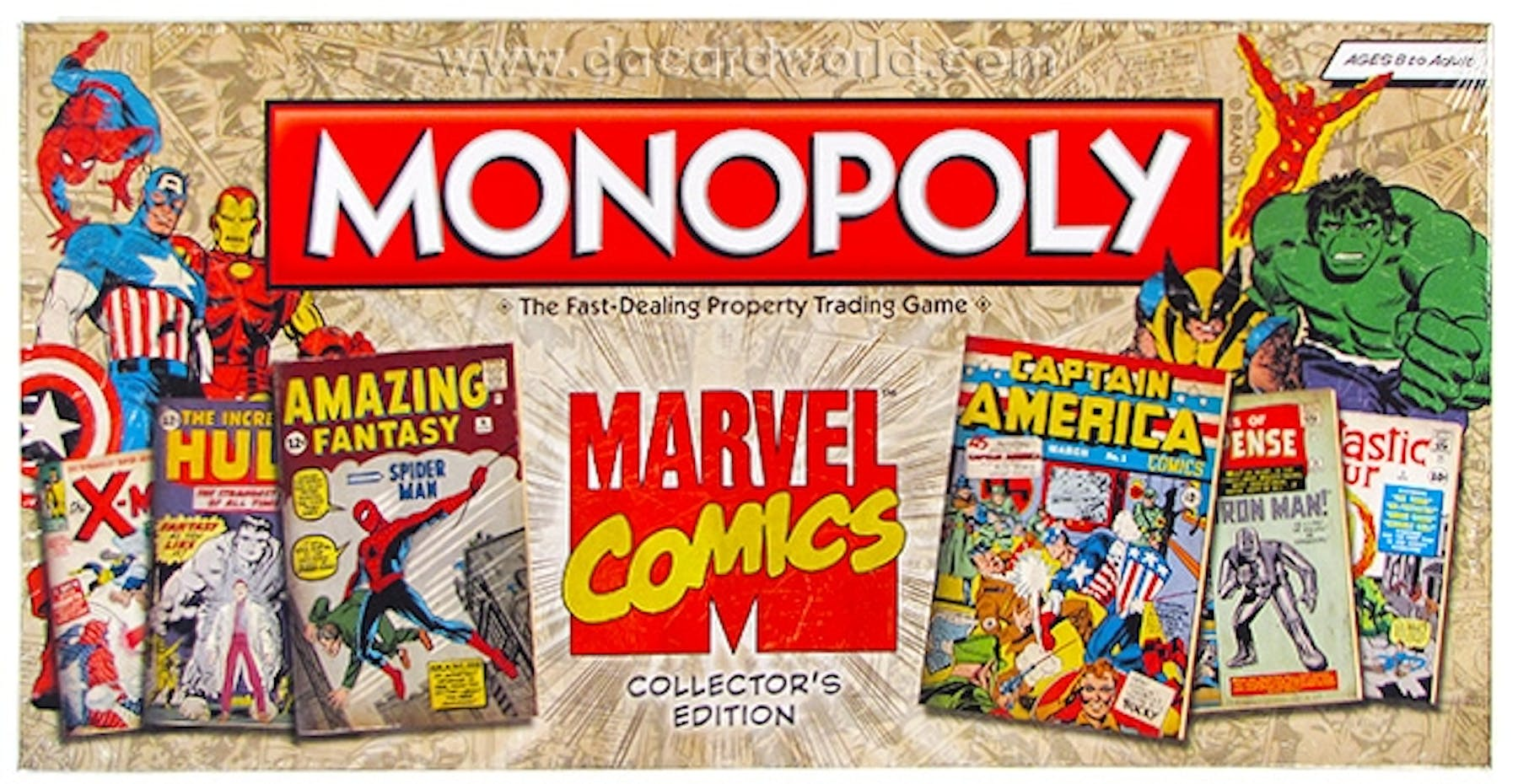 monopoly marvel comics how to play