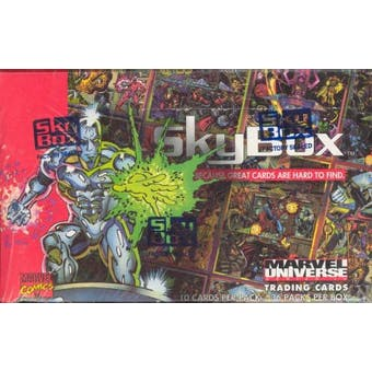 Marvel Universe Series 4 Wax Box (1993 Skybox)