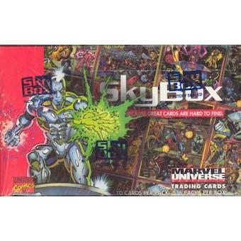 Marvel Universe Series 4 Wax Box (1993 Skybox)