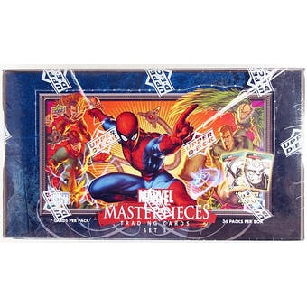 Marvel Masterpieces Series 3 Hobby Box (2008 Upper Deck)