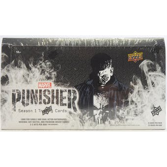 Marvel The Punisher Trading Cards Hobby Box (Upper Deck 2020)