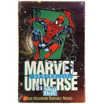 Marvel Universe Series 3 Hobby Box (1992 Skybox)