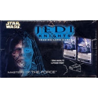 Decipher Star Wars Jedi Knight Masters of the Force Booster Box