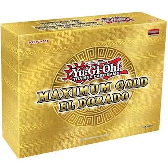 Yu-Gi-Oh Maximum Gold: El Dorado Booster 4-Box Case (Presell)