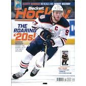 2019 Beckett Hockey Monthly Price Guide (#326 October) (Connor McDavid)