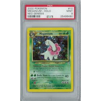 Pokemon Neo Genesis Meganium 10/111 PSA 9