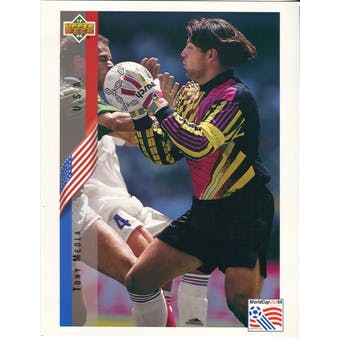 1994 Upper Deck Tony Meola USA World Cup Commemorative Sheet Lot of 10