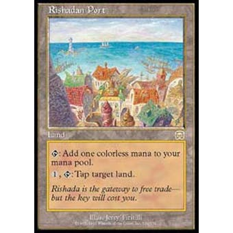 Magic the Gathering Mercadian Masques Single Rishadan Port - NEAR MINT (NM) Sick Deal Pricing
