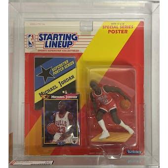 1992 Kenner Starting Lineup Michael Jordan AFA 70+ EX+ (Reed Buy)