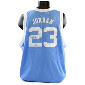 Michael Jordan UNC UDA Autographed Jordan Collection Jersey (Holo Only)