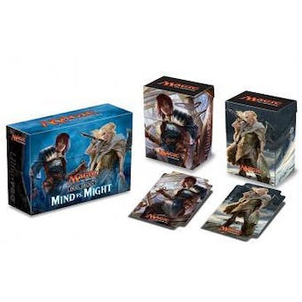 CLOSEOUT - ULTRA PRO MIND VS MIGHT DECK BOX - 60 COUNT CASE