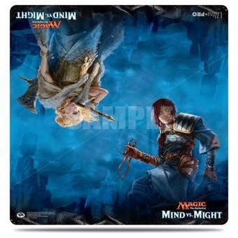 "CLOSEOUT - ULTRA PRO MIND VS MIGHT 24"" x 24"" PLAYMAT - 8 COUNT CASE"