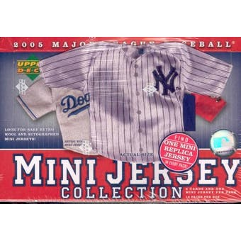 2005 Upper Deck Mini Jersey Collection Baseball Hobby Box