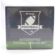 2019 Hit Parade Autographed Football Mini Helmet Hobby Box - Series 5 - Mahomes, Favre, & Russell Wilson!!!!!